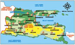 Obyek dan Tempat Wisata di Jawa Timur