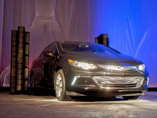 новый Chevrolet Volt