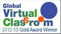 Global Virtual Classroom Arany érem 2012-13