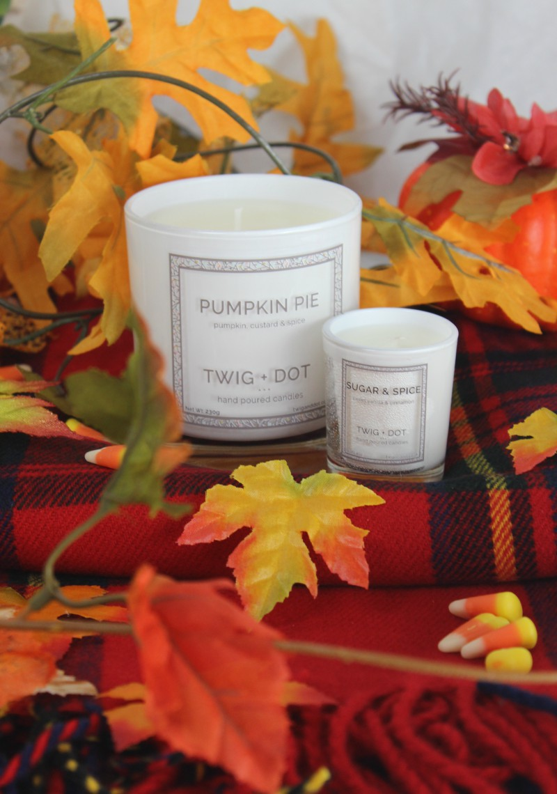 Twig + Dot Autumn Candles