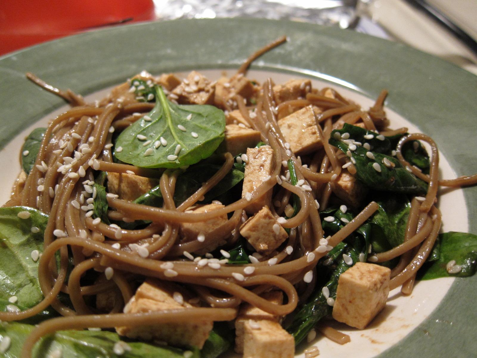 Pimpernelle: Soba Noodle Salad