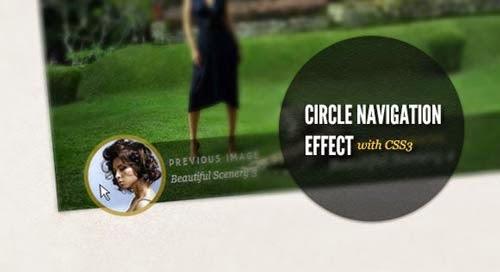 lingkaran dengan html dan css