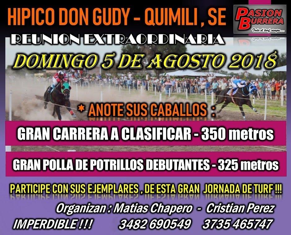 QUIMILI - 5 AGOSTO - CARTA