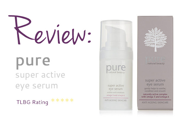 Review: PURE Super Active Eye Serum