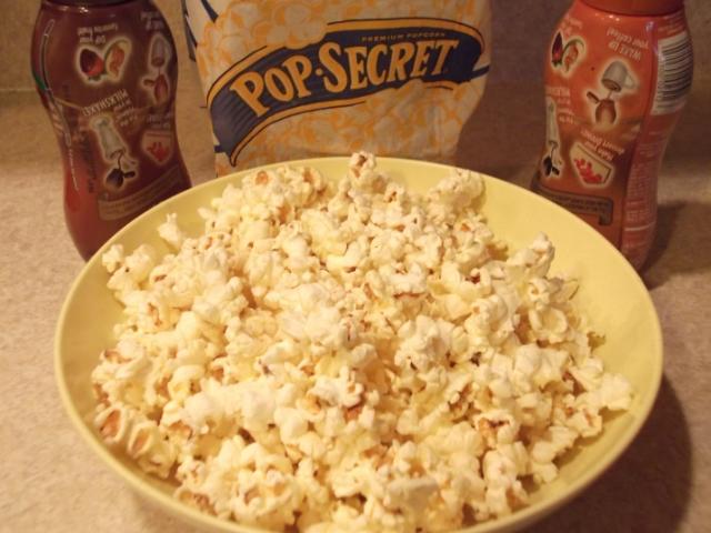 Pop Secret Chocolate-Caramel Princess crunch ingredients