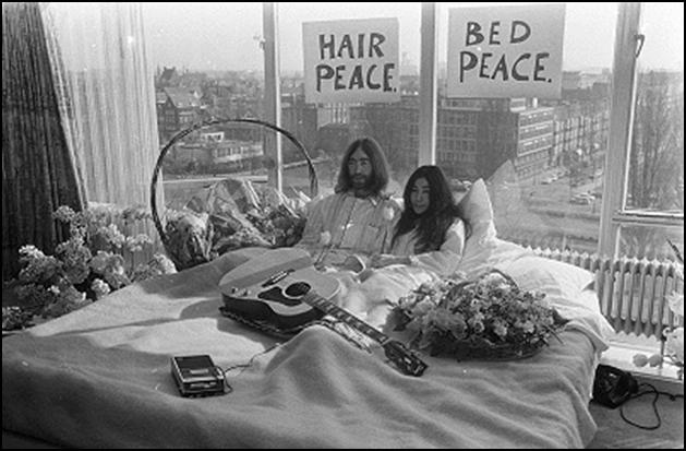 John & Yoko's Protest Bed