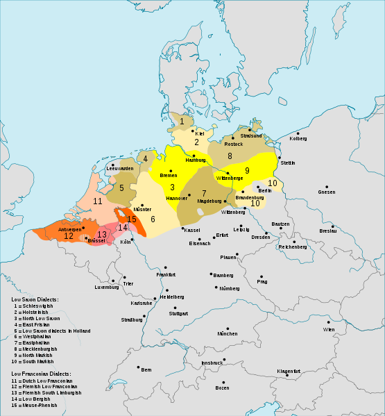 map of europe in german language german language and dialect indo european languages map