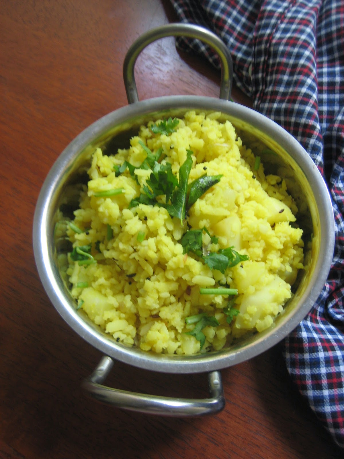 poha with potatoes3