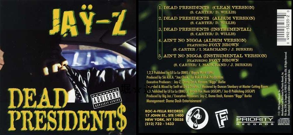 Jay Z Dead Presidents 1