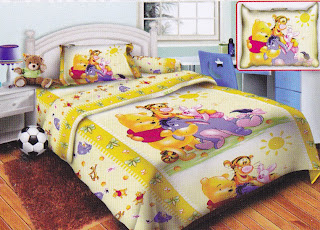 Sprei Belize Pooh Yellow