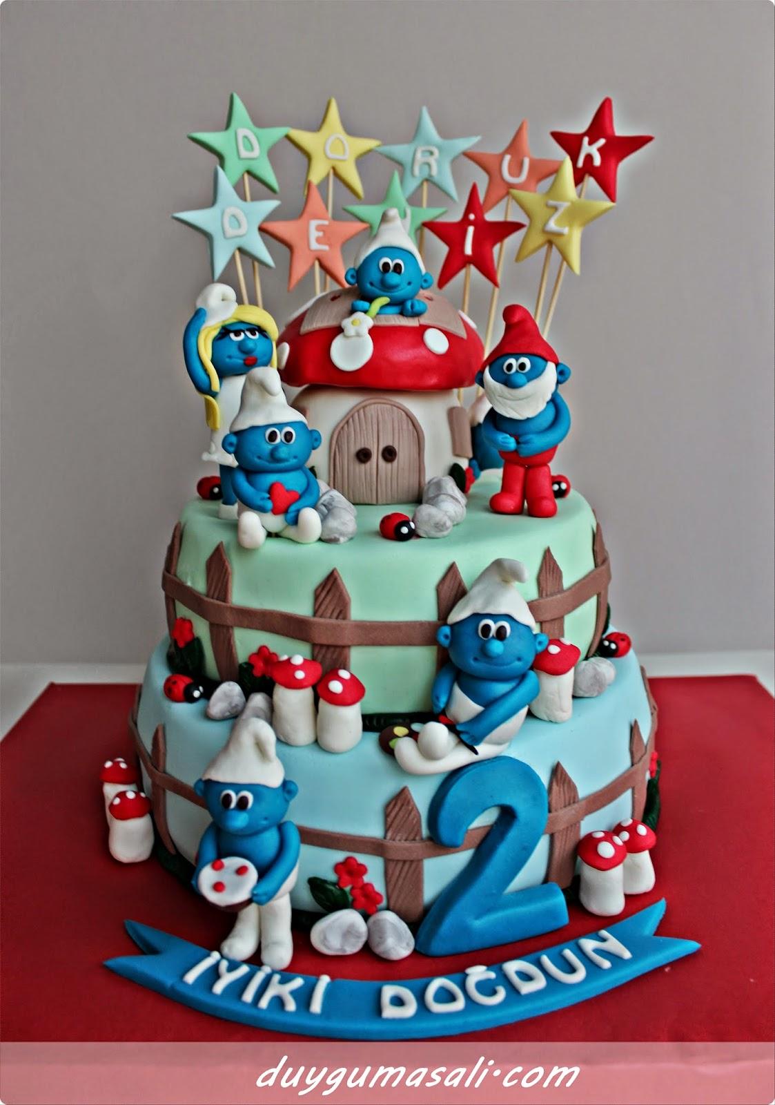 denizin doğum günü pastası