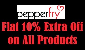 Pepperfry : Get Flat 10% Extra Off on Everything