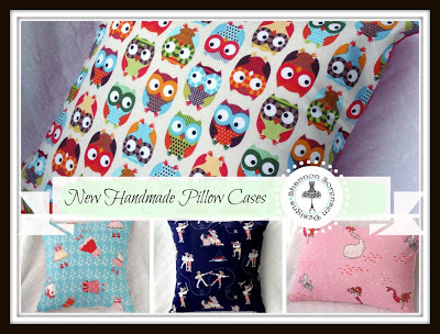 Childrens bedroom decor and Baby Nursery decor Handmade Pillow cases