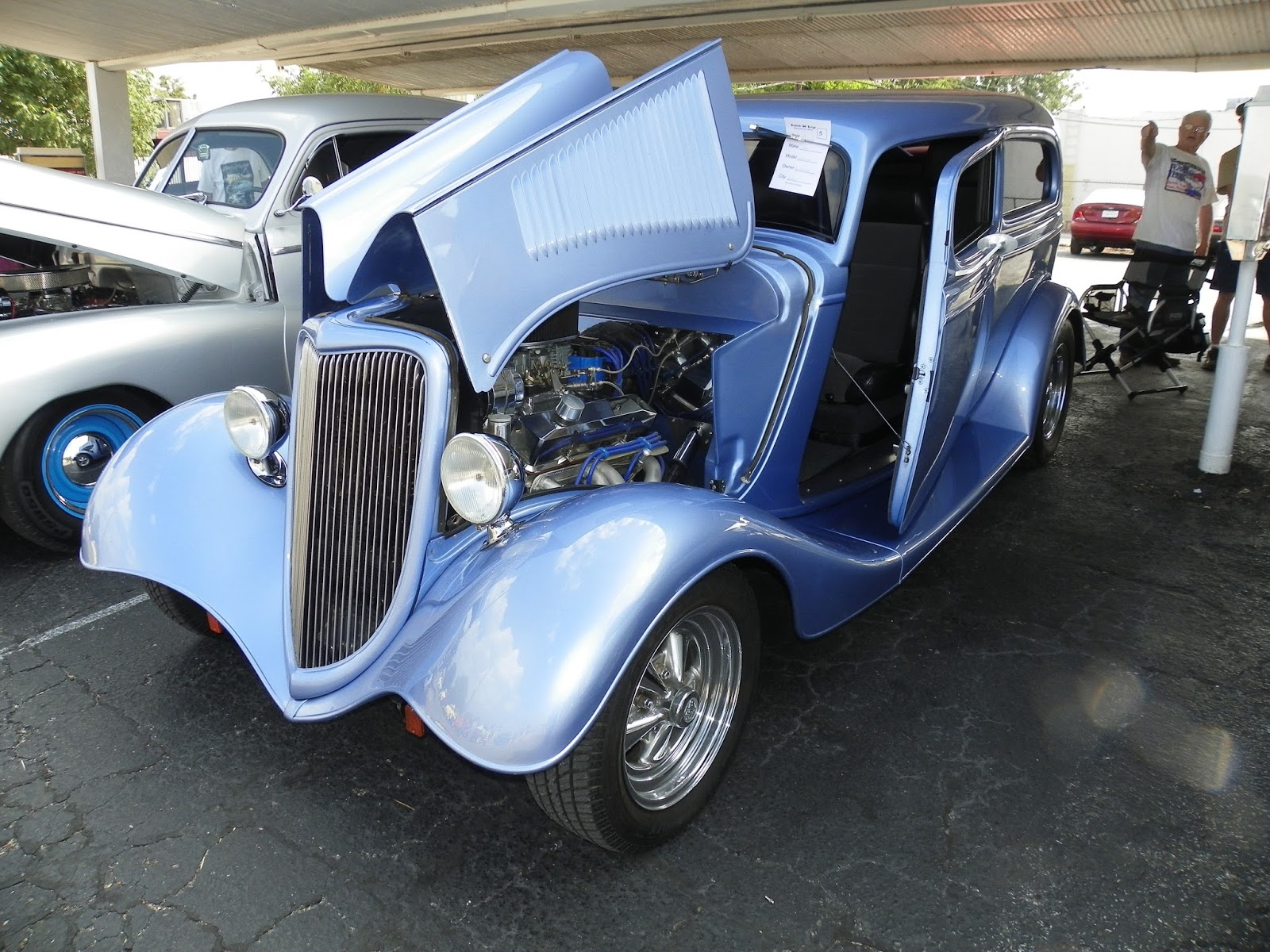 Underdog\'s Utterings: Old Cars on Display at Denison Car Show