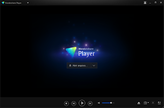 Wondershare Player interface