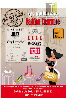 Fashion Clearance Sale Hartamas