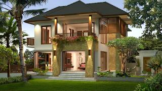 Desain Rumah Villa Minimalis Modern Terbaru