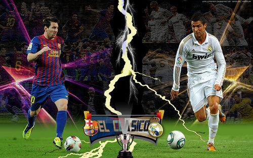 Football: Cristiano Ronaldo vs Lionel Messi New Nice hd Wallpapers