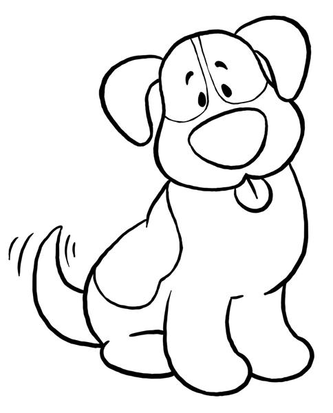 black dogs coloring pages - photo#6