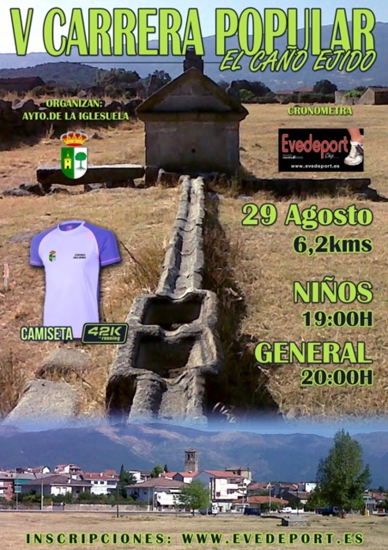 "V Carrera Popular ""El Caño Ejido"" de La Iglesuela"