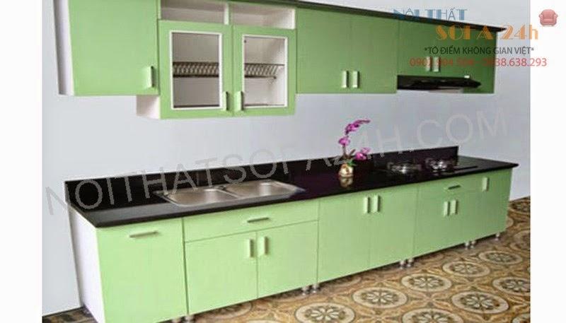 Tủ bếp TB076