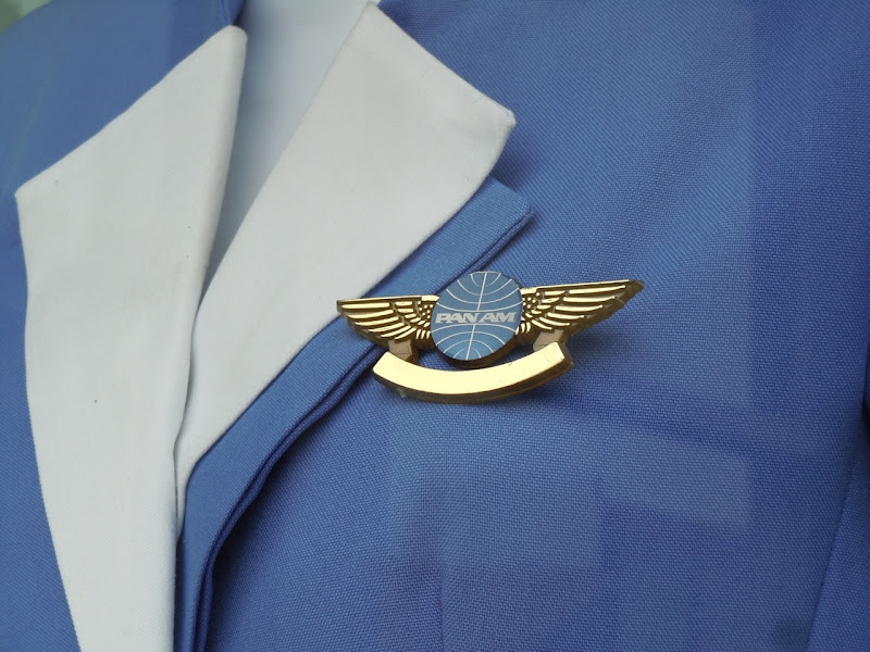 Pan Am uniform pin