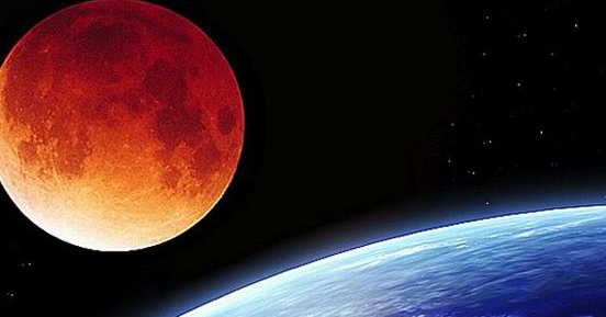 Foto Gerhana Bulan Merah Putih Gambar Terbaru