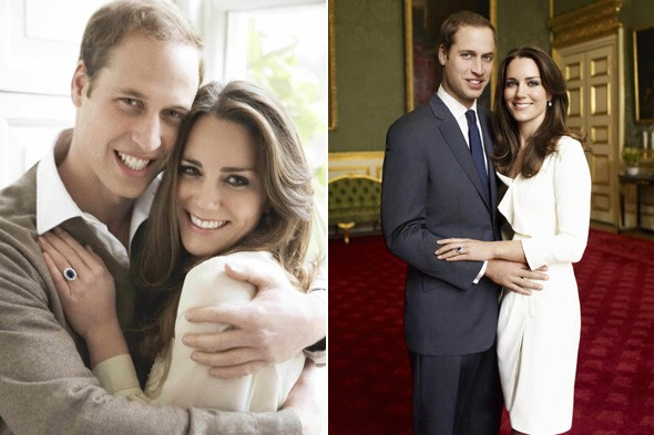 william and kate middleton engagement photos. Kate Middleton and Prince