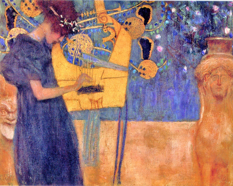 """""""La Música"""", Gustav Klimt"""
