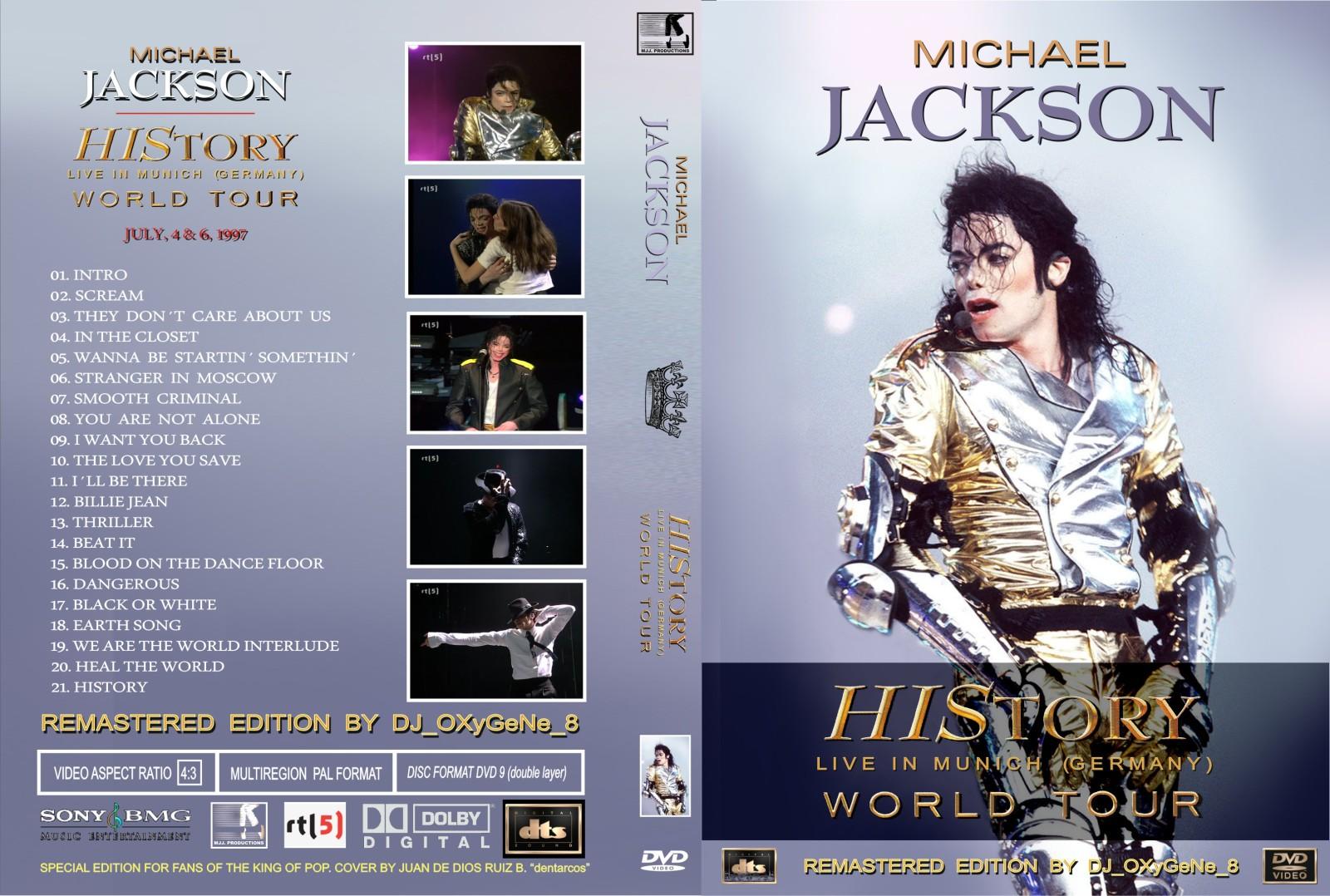 Michael Jackson History Tour Dvd