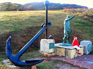 Asturias con niños: Museo de las Anclas en Salinas
