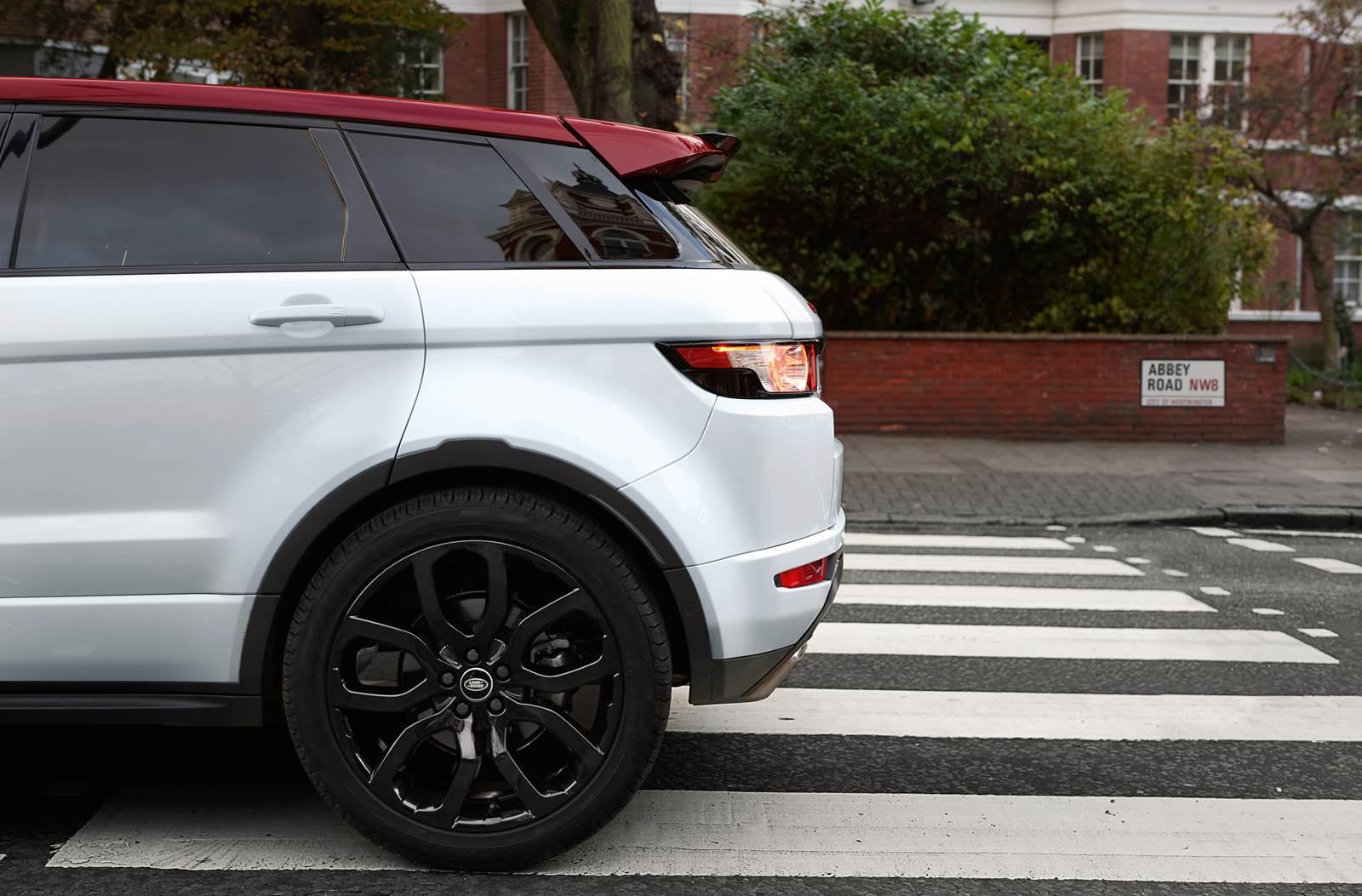 Range Rover Evoque Nw8 Inspirada Em Disco Dos Beetles Car Blog Br
