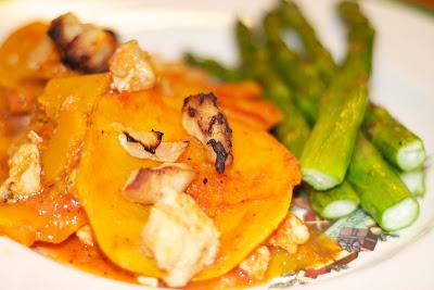 Garlic Chicken Butternut Squash Lasagna