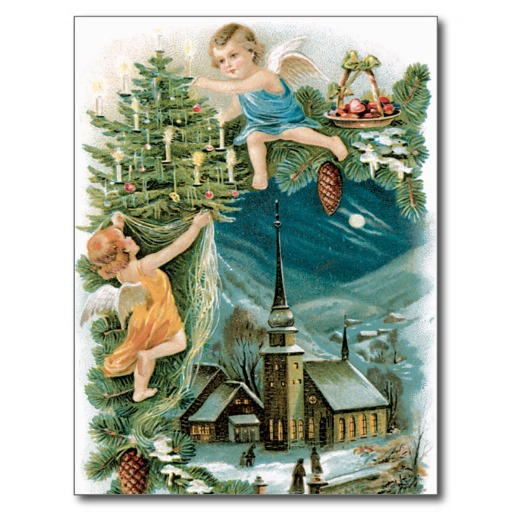ritual del arbol de navidad con los arcangeles