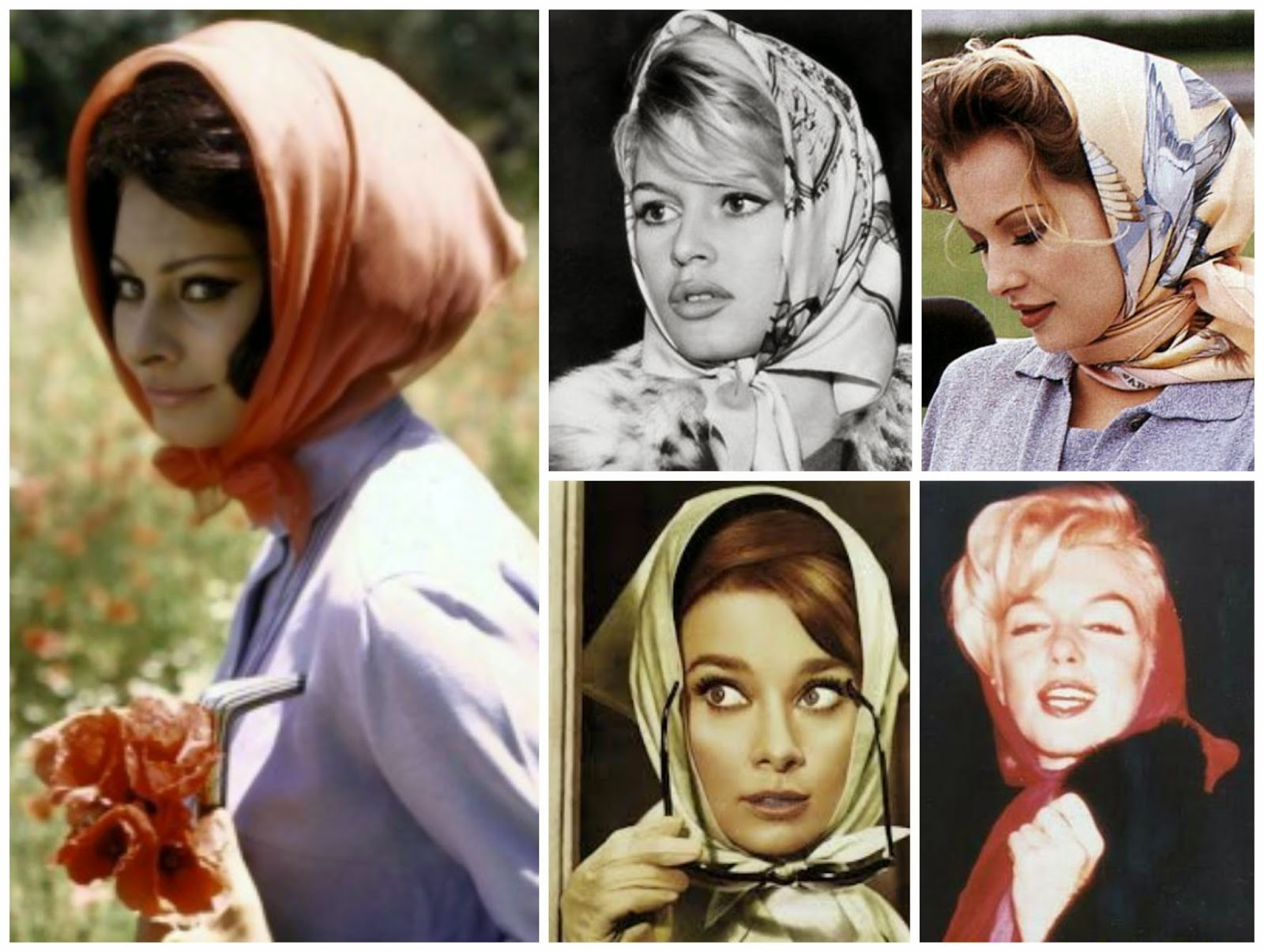 1950s Head Scarf Trends Perfect For Spring Fashion
