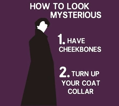 sherlock, hot, mysterious