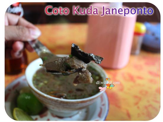 pengalaman makan Coto Kuda di Janeponto *dewiezul.com