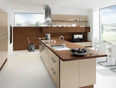 Decoraciones y modernidades modernas cocinas con isla for Modelos de islas de cocina modernas