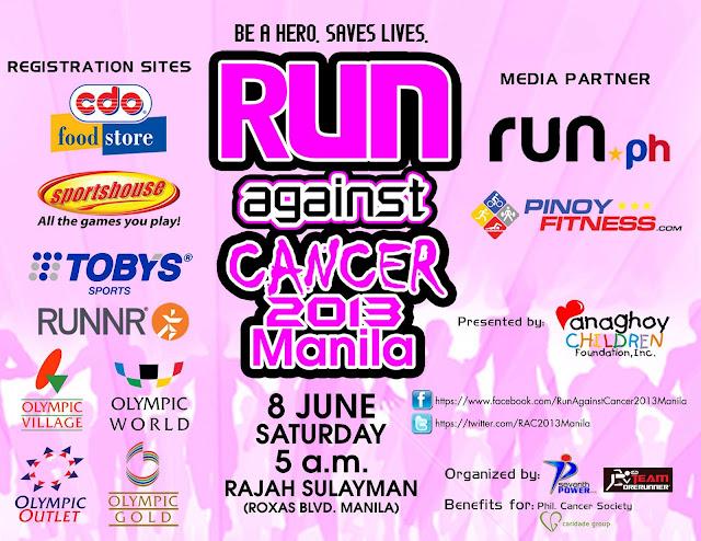 Run Against Cancer 2013 Manila