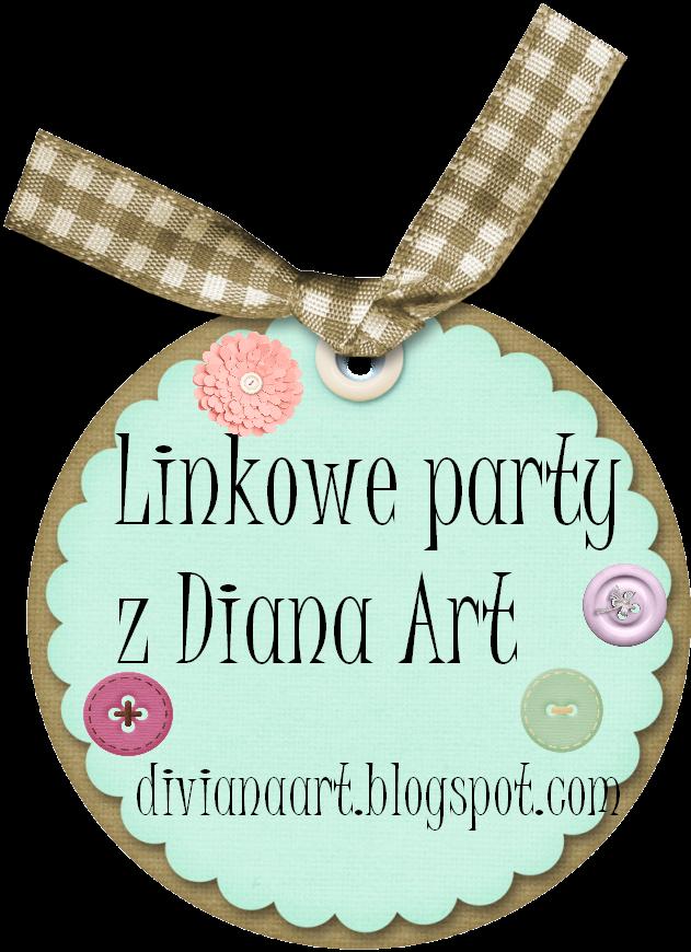 Świąteczne linkowe party  Diana Art