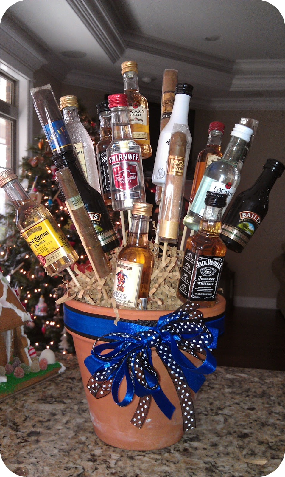 All things fabulous birthday parties booze bouquet for 21st birthday decoration packages