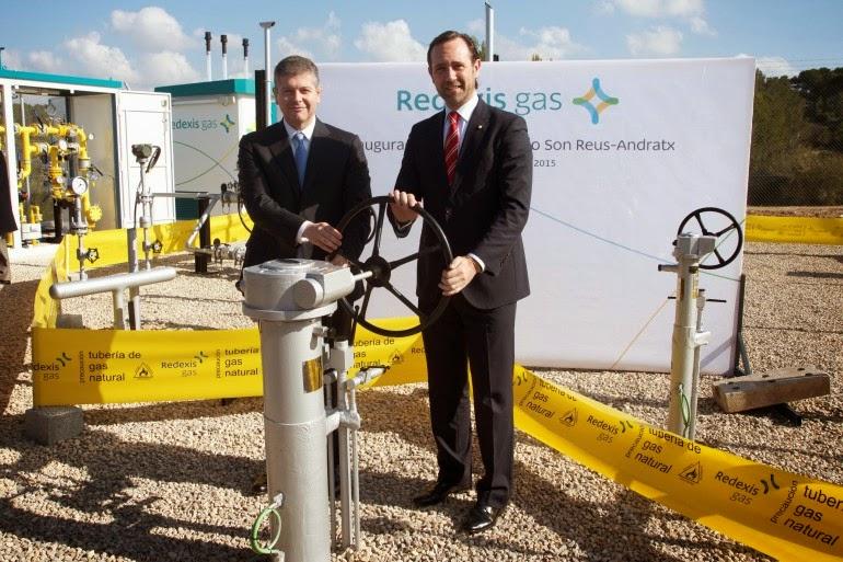 Redexis Gas inaugura el gasoducto más extenso de las Islas Baleares, 41 kilómetros de infraestructura que darán suministro a más de 100.000 ciudadanos