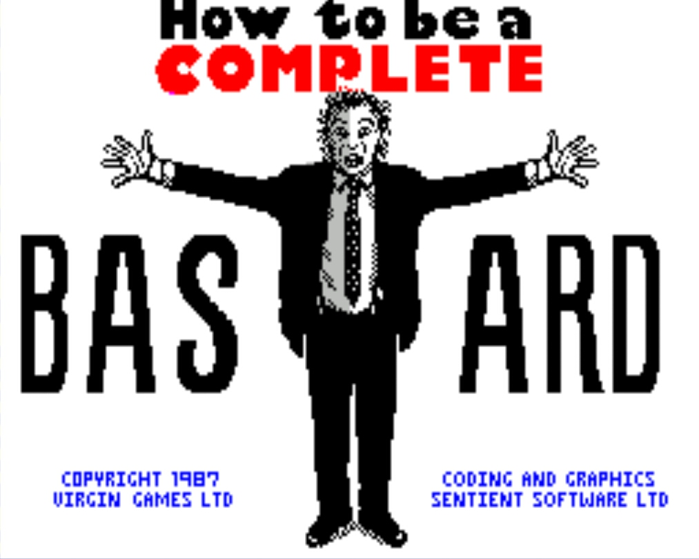 how to be a complete bastard pdf
