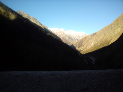 The mythical towns of Nar and Narayan in the Himalayas