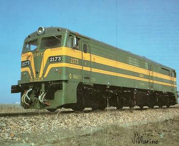 Loc. Diesel serie 321-073-9. (2173)
