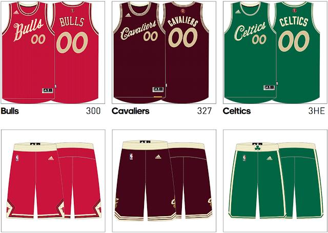 Estas son las camisetas del próximo Christmas Day en la NBA