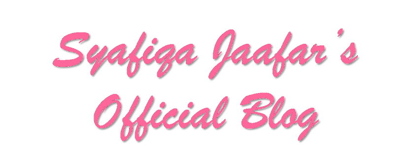 SyafiqaJaafar's Official Blog :)