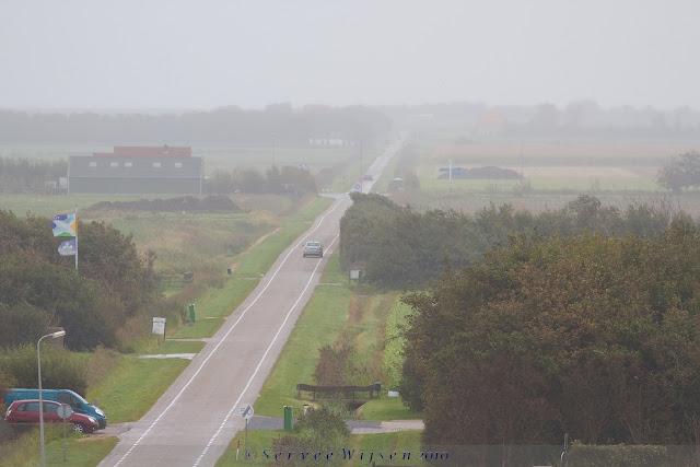 Achterland bij de Slufter op Texel