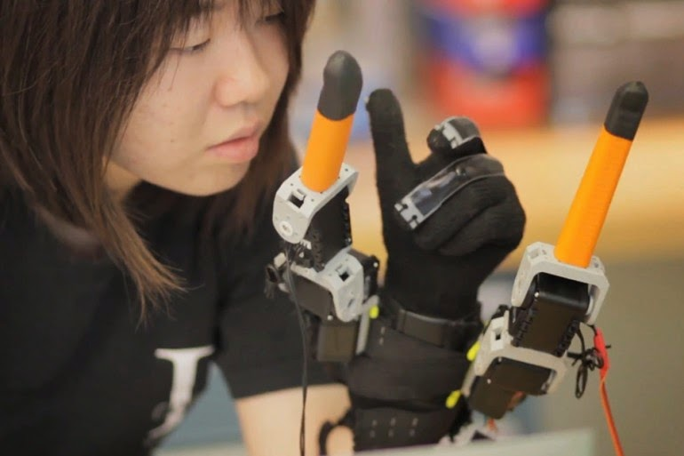 supernumerary robotic fingers