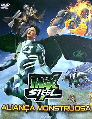 Filme Max Steel: Aliança Monstruosa DVDRip XviD & RMVB Dublado